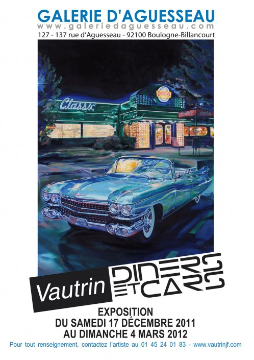 4 Galerie Aguesseau Exposition Diners et Cars 2011