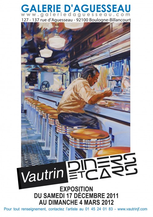 5 Galerie Aguesseau Exposition Diners et Cars 2011