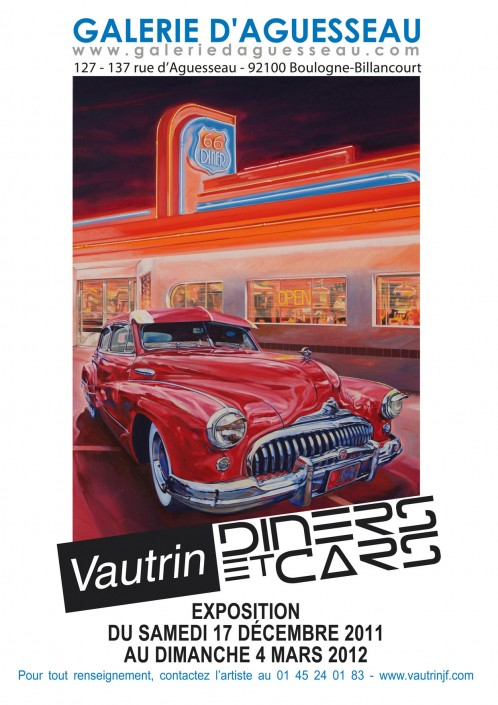 6 Galerie Aguesseau Exposition Diners et Cars 2011