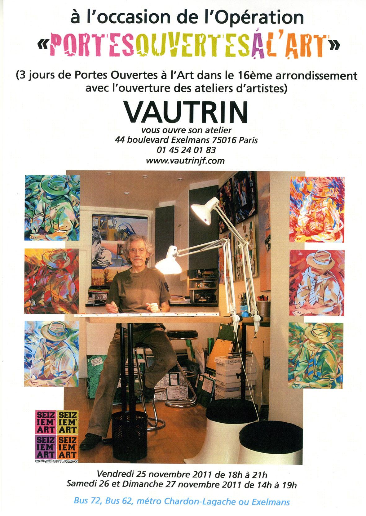 Atelier Portes Ouvertes Vautrin 2011