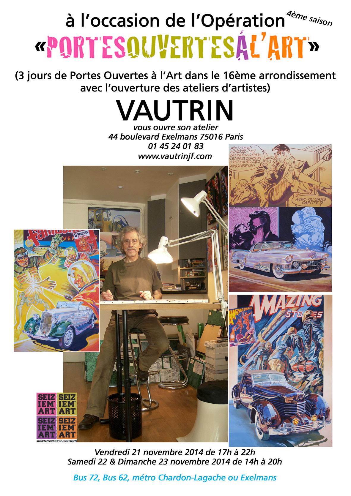 Atelier Portes Ouvertes Vautrin 2014