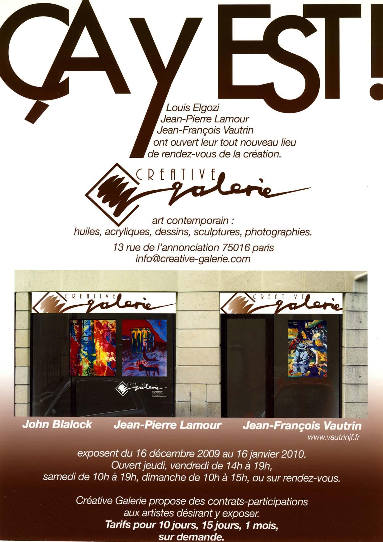 2009 Créative Galerie