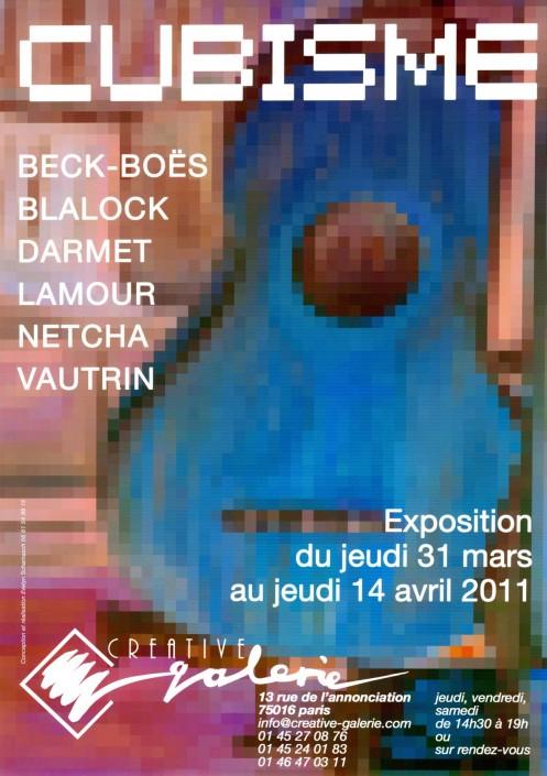 """Créative Galerie Exposition """"Cubisme"""" 2011"""