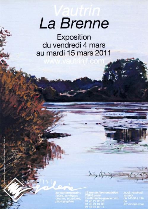 "Créative Galerie Exposition ""La Brenne"" 2011"
