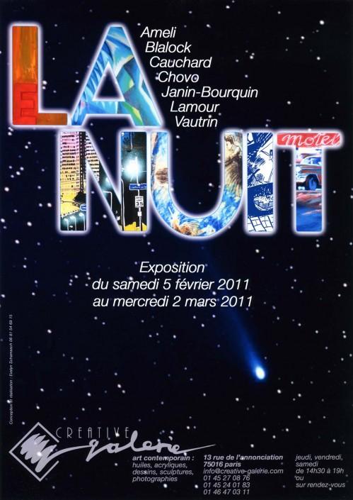 """Créative Galerie Exposition """"La Nuit 1"""" 2011"""