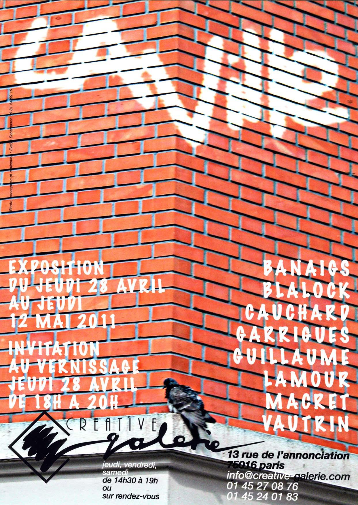 """Créative Galerie Exposition """"La Ville 2"""" 2011"""