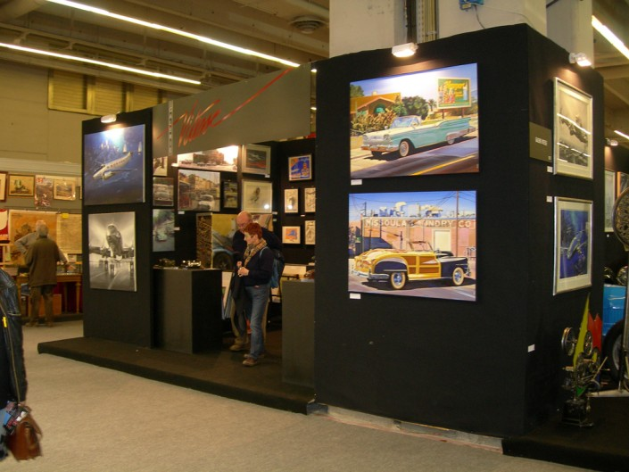 Galerie Vitesse Salon Rétromobile 1