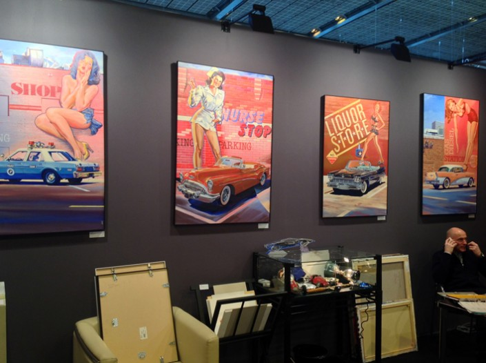 Galerie Vitesse Salon Rétromobile 3