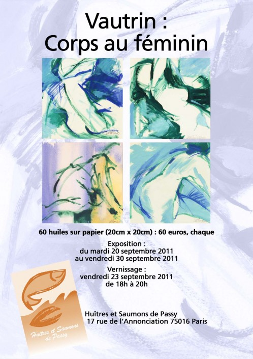 """Créative Galerie Exposition """"Corps au féminin"""" 2011"""