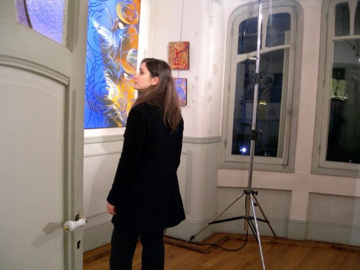 Une amie qui aime la peinture, Daphné Varnier.