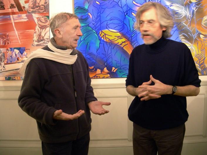 Régis Bénichi et JF.Vautrin. R. Bénichi a été maître de conférences à l'Institut d'études politiques de Paris de 1980 à 2000