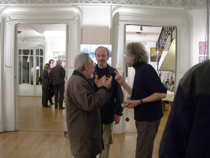 "Turpin, Solanilla, Vautrin, 10 mn plus tard, la discussion ""s'envenime""..."