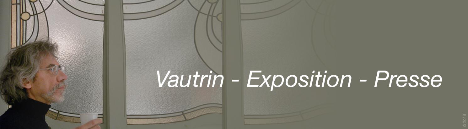 Accueil frise Vautrin Exposition Presse 2015
