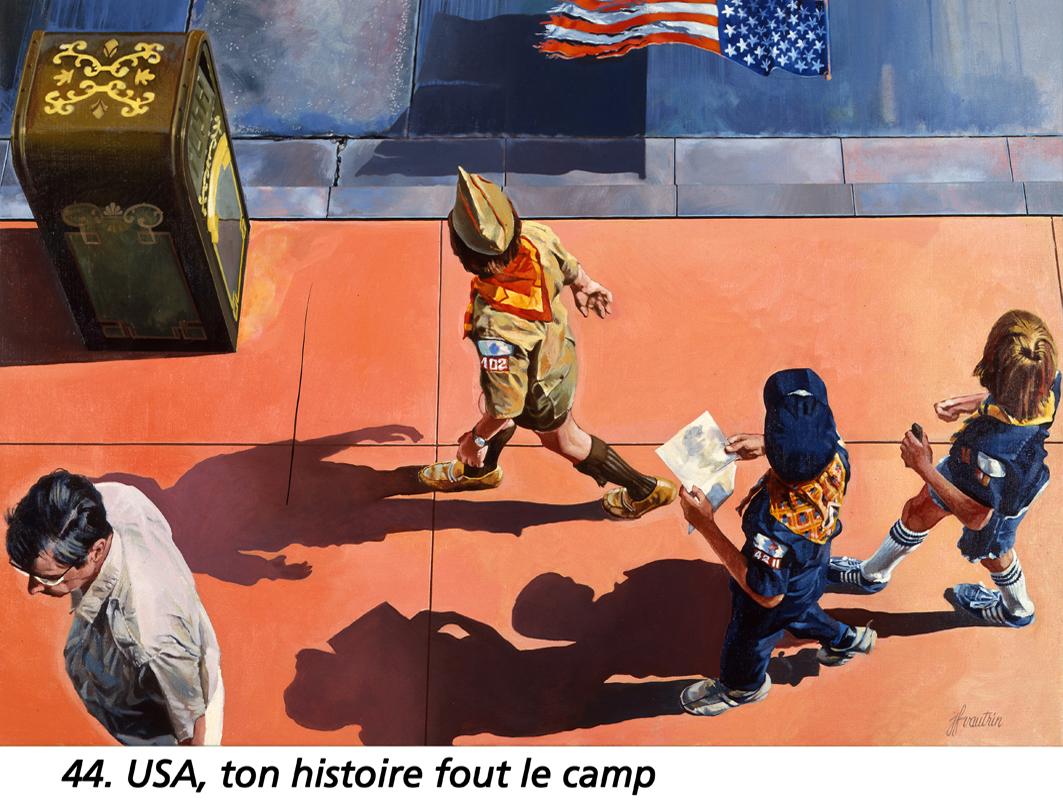 """1981 """" USA ton histoire fout le camp """""""