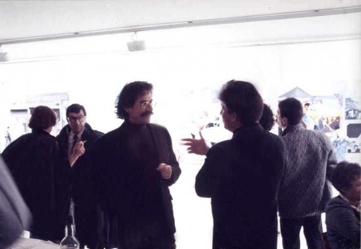 1990 Grenoble Vautrin converse avec Jean-François Kopf