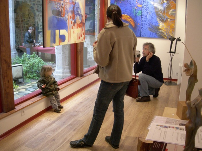 2008 Galerie Clac JF Vautrin et Arhur