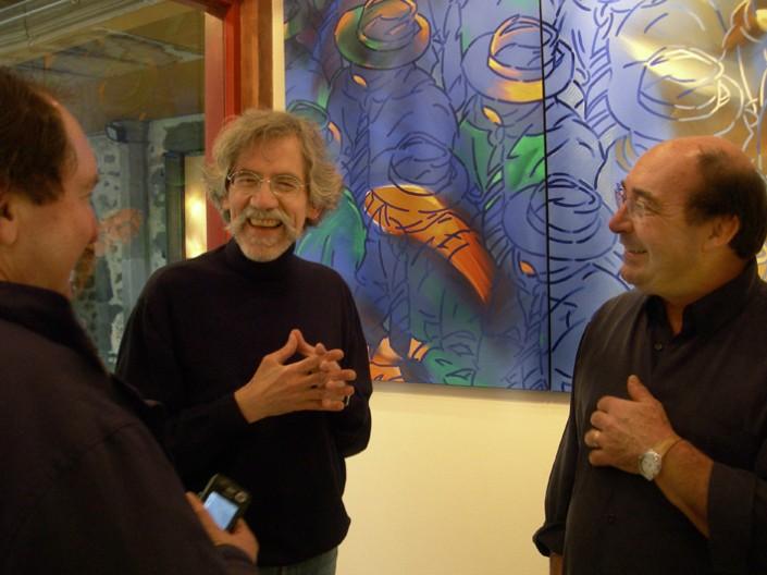 2008 Galerie Clac JF Vautrin et Bernard Crueghe galeriste