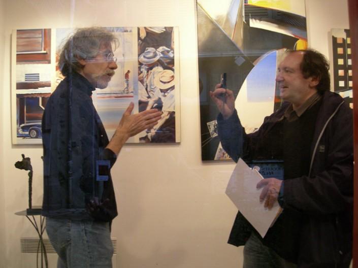 2008 Galerie Clac JF Vautrin interviewé par Didier Petit, ( voir l'interview dans la rubrique Liens )
