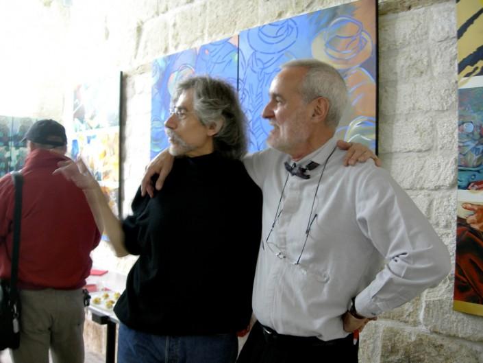 Vautrin et Guy Hébert galeriste