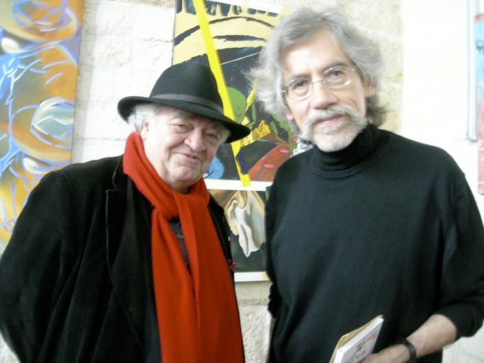 Henri Talvat et J-F Vautrin à droite